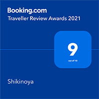 Booking.com Traveller Review Awards 2021 Shikinoya