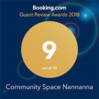 Booking.com Traveller Review Awards 2018 Nannanna